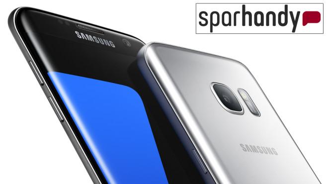 Samsung Galaxy S7 und S7 Edge vorbestellen ©Samsung, Sparhandy