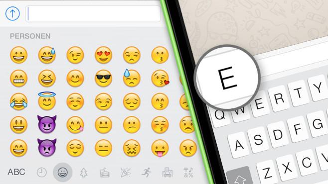 WhatsApp: Das sind die 50 beliebtesten Emojis ©COMPUTER BILD