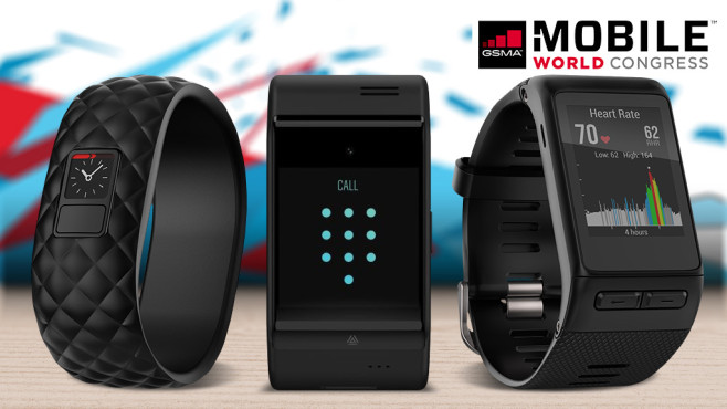 MWC 2016: Wearable-Highlights © dial, Garmin, Haier