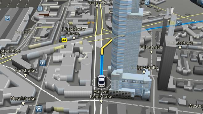 Bosch 3D-Navigation Pressefoto ©Bosch