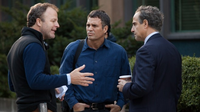 Spotlight: Tom McCarthy, Mark Ruffalo, Stanley Tucci ©Kerry Hayes/Paramount Pictures