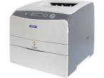 Epson Aculaser C1100 Beim Drucken recht laut: der Epson Aculaser 1100.