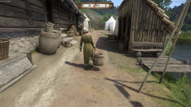 Beta-Screenshot Kingdom Come - Deliverance: Dorfleben © Warhorse Studios