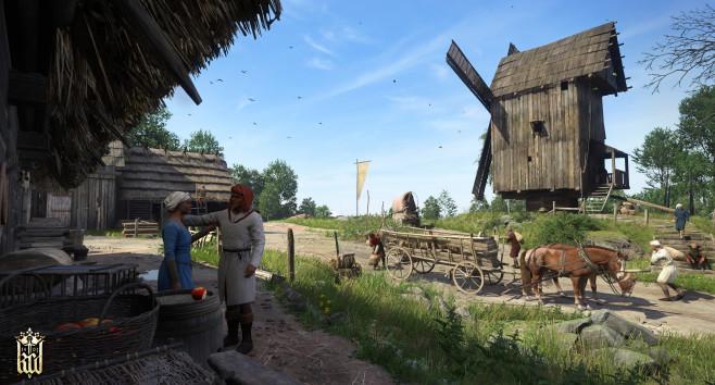 Beta-Screenshot Kingdom Come - Deliverance: Sonnenaufgang ©Warhorse Studios