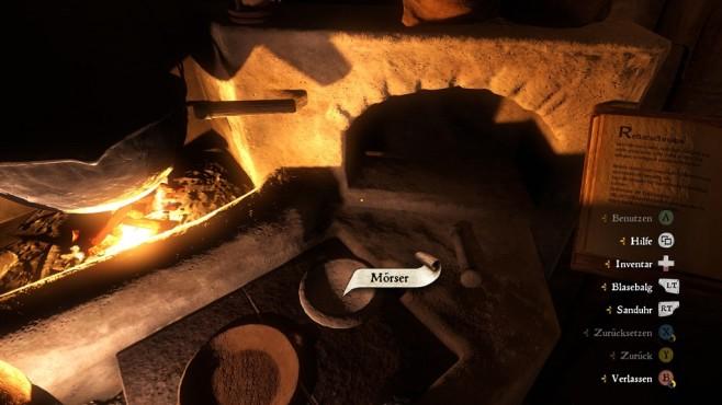 Screenshot Kingdom Come - Deliverance: Alchemie ©Warhorse Studios