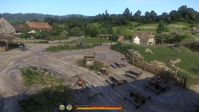 Screenshot Kingdom Come - Deliverance: Dorf ©Warhorse Studios