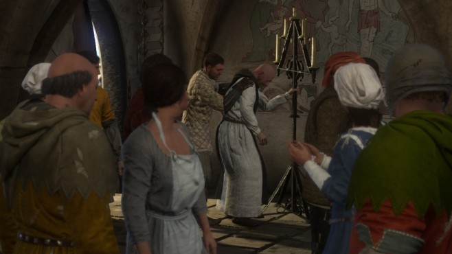 Screenshot Kingdom Come - Deliverance: Priester ©Warhorse Studios
