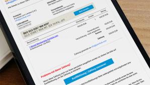 Gefälschte Paypal-Rechnung ©COMPUTER BILD