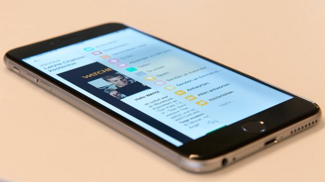 AirMail iOS ©COMPUTER BILD
