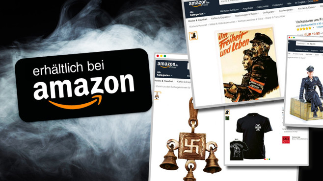 Amazon bietet Nazi-Schund zum Verkauf an ©Amazon