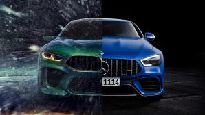 BMW, Mercedes ©COMPUTER BILD, Mercedes, BMW