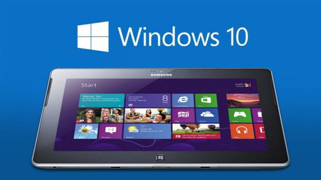 Windows 10 RT ©Microsoft, Samsung