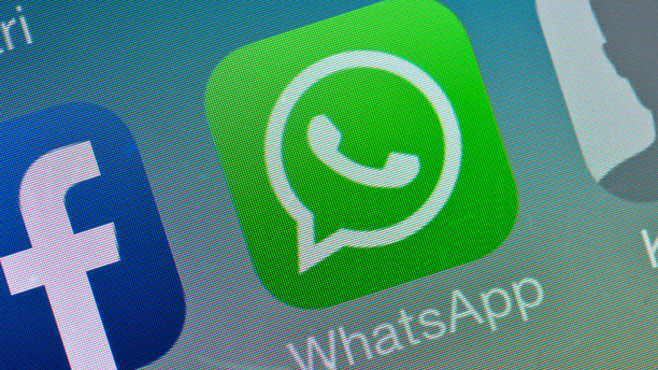 WhatsApp Icon © dpa Bildfunk