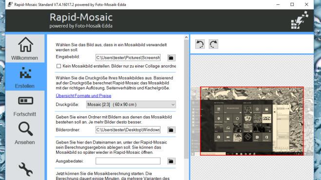Foto-Mosaik-Edda: Kreative Bildkompositionen erstellen ©COMPUTER BILD
