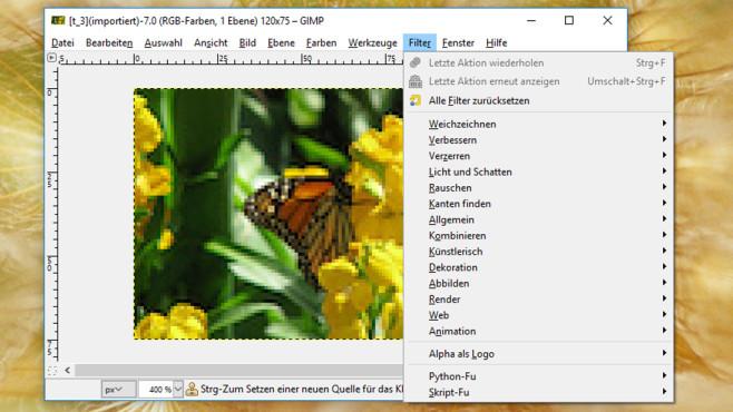 GIMP: Allround-Bearbeitung für digitale Fotos ©COMPUTER BILD