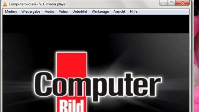 VLC Media Player: Videos wiedergeben und anpassen ©COMPUTER BILD