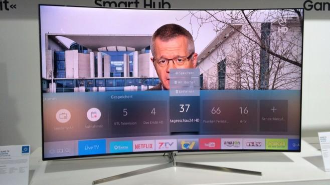 Samsung K Serie Smart Hub ©COMPUTER BILD