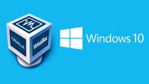 Windows 10 als virtuelle Maschine ©Microsoft, Oracle