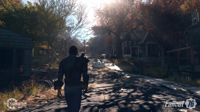 Fallout 76: Trailer, Release-Termin – neue Infos Immer wieder werden Ihnen andere Spieler über den Weg laufen, jedoch werden maximal 32 Spieler gemeinsam auf einem Server sein.©Bethesda