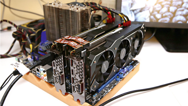 KFA� GeForce GTX 980 Ti OC Black Edition © COMPUTER BILD
