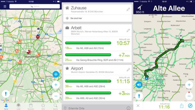 Inrix Traffic App ©Inrix