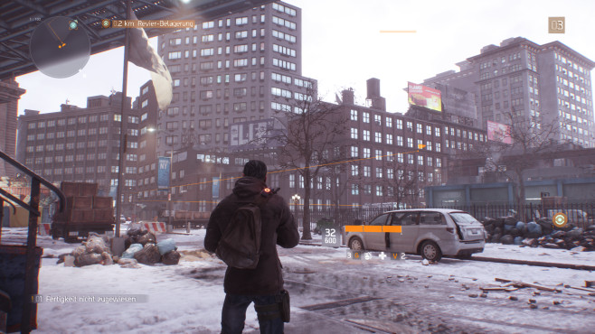 The Division: Flagge © Ubisoft