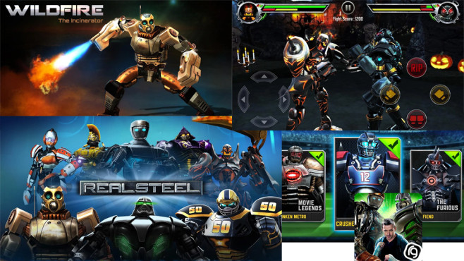 Real Steel ©Reliance Big Entertainment (UK) Private Limited