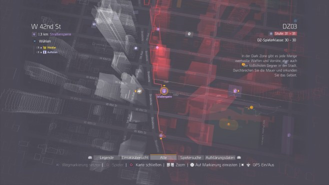 The Division: End-Game und High-End-Gear ©Ubisoft