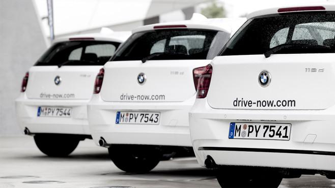 DriveNow BMW ©DriveNow