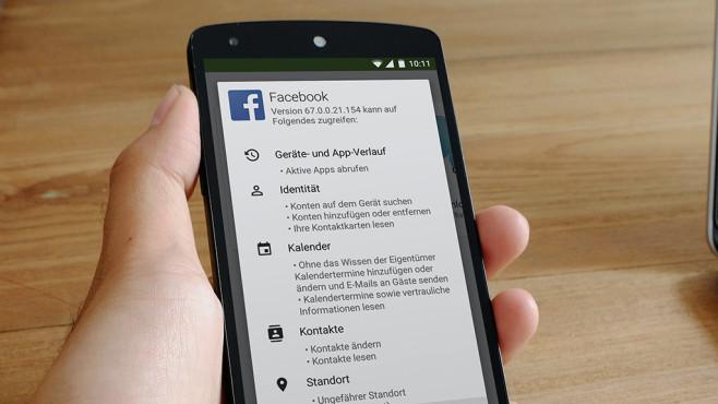 Android-App-Berechtigungen ©Google