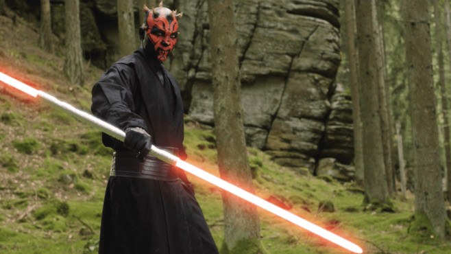 Ben Schamma als Darth Maul © T7 Production