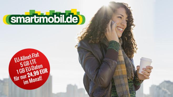 LTE-Tarif fürs Smartphone ©Smartmobil, COMPUTER BILD