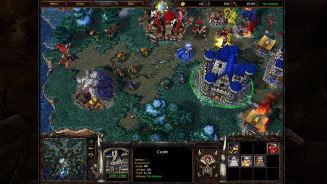 Neuer Patch f�r Warcraft 3 und Diablo 2 © Screenshot: http://eu.blizzard.com/de-de/games/war3/
