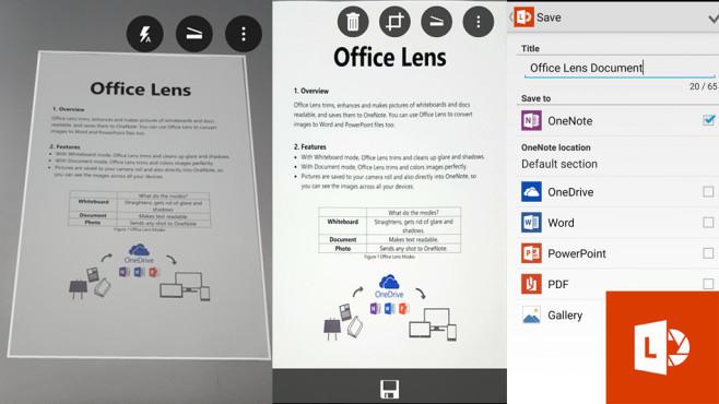 Texte mobil erfassen ©Microsoft, Montage: COMPUTER BILD