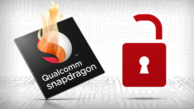Gefahr für Geräte mit Qualcomm Snapdragon Chip ©Qualcomm, BillionPhotos.com – Fotolia.com, germina – Fotolia.com