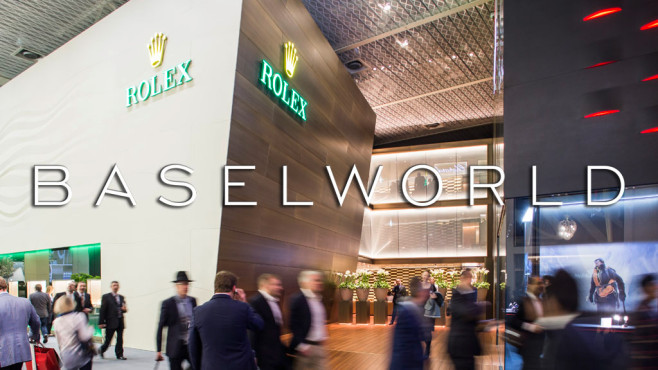 Rolex-Stand auf der Baselworld ©Baselworld