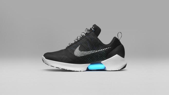 Nike: Selbstschnürender Schuh ©Nike