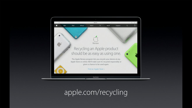 Apple Recycle © Apple