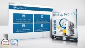 Asmapoo Backup Pro 10 im Test ©Ashampoo