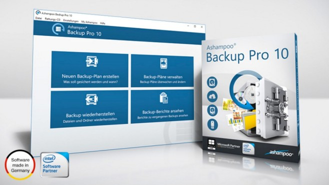Ashampoo Backup Pro 10 im Test ©Ashampoo
