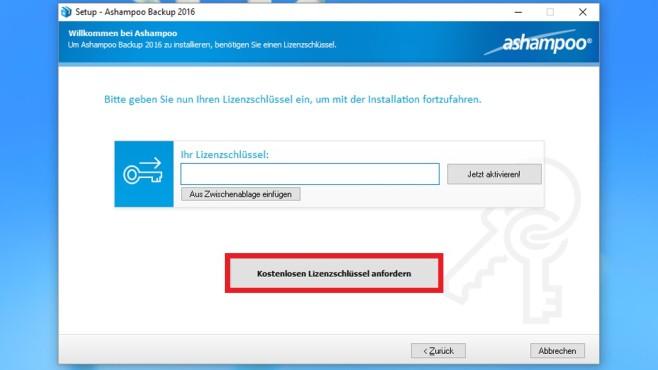 Registrierung beim Hersteller ©COMPUTER BILD