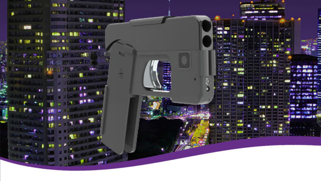Waffe in Smartphone-Optik © Ideal Conceal