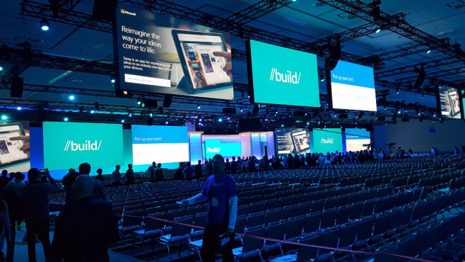 Microsoft Build 2016: Keynote © COMPUTER BILD