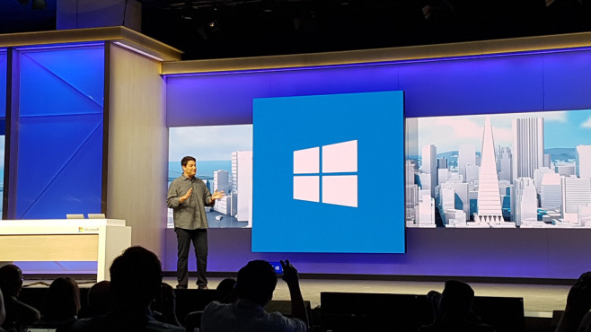 Microsoft Build 2016: Terry Myerson © COMPUTER BILD