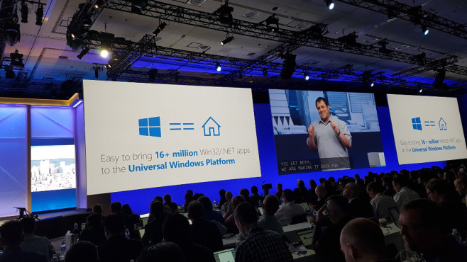 Microsoft Build 2016: Universal Windows Platform © COMPUTER BILD