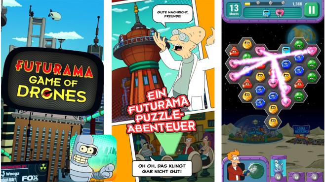 Futurama – Game of Drones ©Wooga