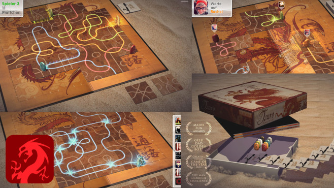 Tsuro - Das Spiel des Pfades ©Thunderbox Entertainment