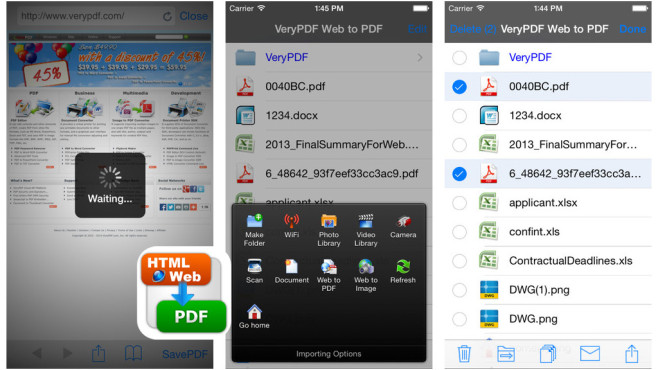 VeryPDF Web to PDF Converter © Lingwen Global