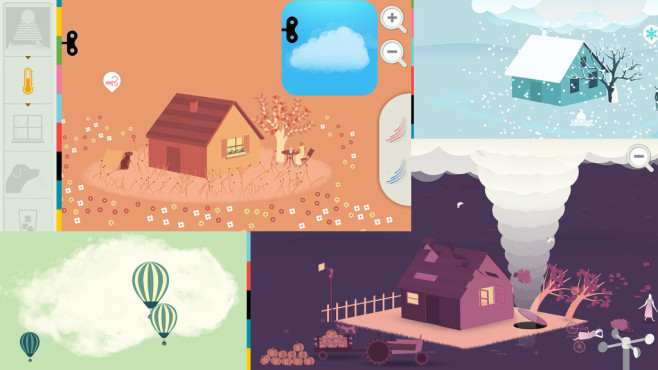 Weather by Tinybob © Tinybop Inc.