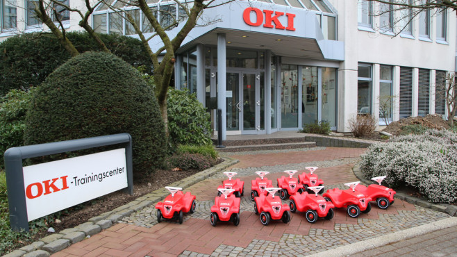 Oki Bobby-Car-Fahrzeugflotte ©Harsdorf, OKI